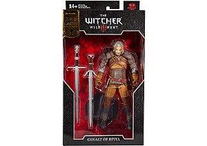 Action Figure Geralt de Rivia The Witcher III Wild Hunt - McFarlane Gold Label