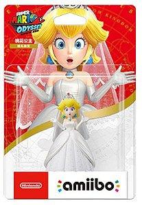 Amiibo Princesa Peach Mario Odyssey Nintendo WiiU Switch - Games Geek