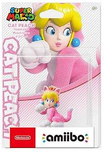 Amiibo Cat Peach Super Mario Nintendo WiiU Switch - Games Geek