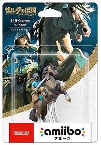 Amiibo Link Rider Zelda Breath of the Wild Nintendo WiiU Switch - Games Geek