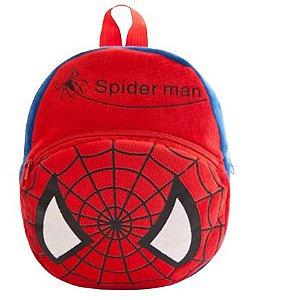 Mochila Infantil Plush Homem Aranha - Escolar