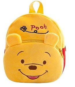 Mochila Infantil Plush Ursinho Pooh - Escolar