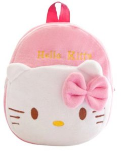 Mochila Infantil Plush Hello Kitty - Escolar