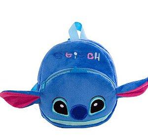 Mochila Infantil Plush Stitch - Escolar