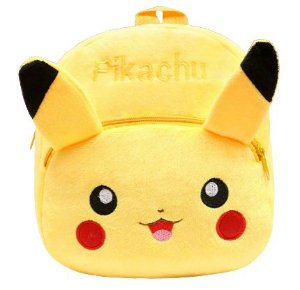 Mochila Infantil Plush Pikachu Pokémon - Escolar