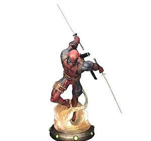 Estátua Deadpool 35 Cm Figure Marvel X-Men