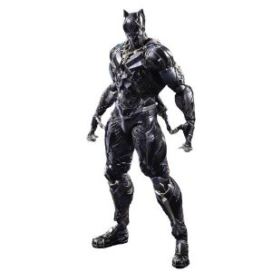 Action Figure Pantera Negra 27 Cm Articulado Arts Kai Variant