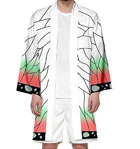 Kimono Kocho Shinobu Demon Slayer Kimetsu No Yaiba - Adulto
