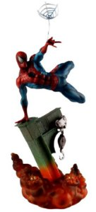 Estátua Homem Aranha 30 Cm Versão I - Spider Man