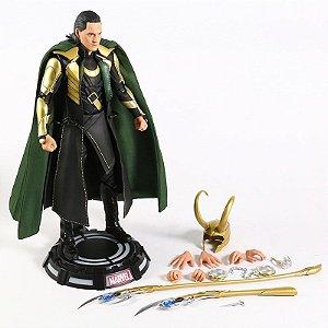 Action Figure Loki 1/6 Marvel 30 Cm - Vingadores
