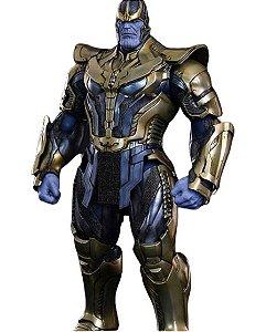 Thanos 36 Cm Action Figure Totalmente Articulado Vingadores
