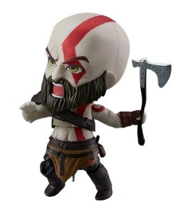 Action Figure Kratos God Of War Ps4 Nendo - Games Geek