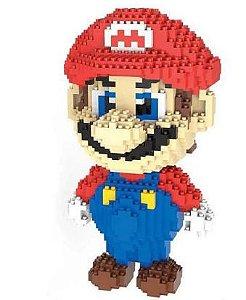 Mario Super Mario Bros  1750 peças 20 Cm - Blocos de Montar