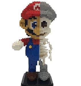Mario Super Mario Bros  2000 peças - Blocos de Montar