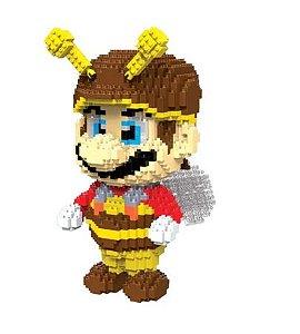 Mario Bee Super Mario Bros  1750 peças 20 Cm - Blocos de Montar