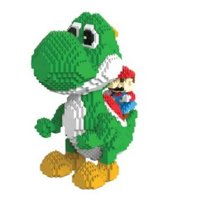 Mario e Yoshi Super Mario Bros 2276 peças 21 Cm - Blocos de Montar