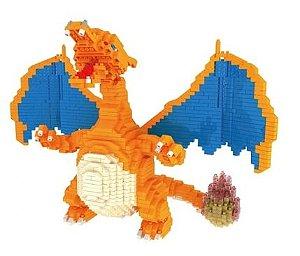 Blocos de Montar Charizard 2080 Peças - Pokémon
