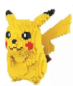 Blocos de Montar Pikachu 1750 peças - Pokémon