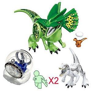 Kit Jurassic Park Blocos de Montar Modelo 6 - Cinema Geek