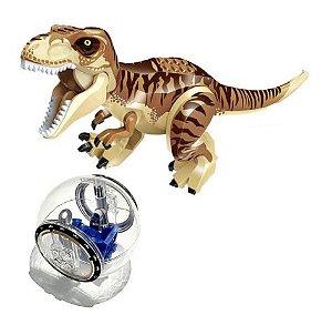 Kit Jurassic Park Blocos de Montar Modelo 7 - Cinema Geek