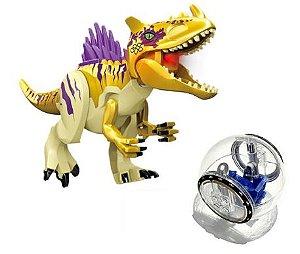 Kit Jurassic Park Blocos de Montar Modelo 17 - Cinema Geek