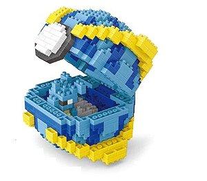 Blocos de Montar Lapras + Pokébola Quick Ball 573 peças - Pokémon