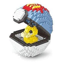 Blocos de Montar Psyduck + Pokébola Lure Ball 414 peças - Pokémon