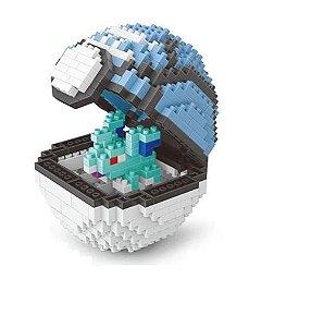 Blocos de Montar Nidorina + pokébola Lure Ball 443 peças - Pokémon