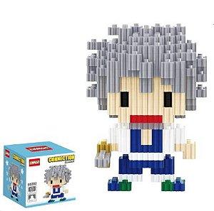 Mini Blocks MQFun Demon Slayer Sanemi Shinazugawa + 246 peças 8,6Cm x 6,2Cm - Kimetsu No Yaiba