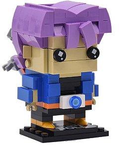 Brickheadz Trunks + 180 peças Dragon Ball - Blocos de montar 9Cm x 6,5Cm x 5Cm