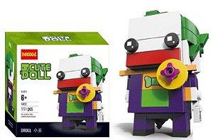 Brickheadz Coringa + 117 peças Dc Comics - Blocos de montar 9Cm x 3,5Cm x 4,5Cm