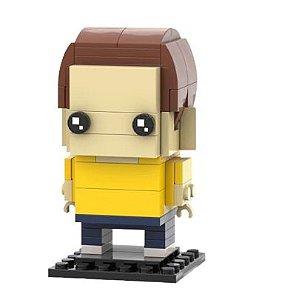 Brickheadz Morty + 89 peças Rick And Morty - Blocos de montar 10Cm x 6Cm x 6Cm