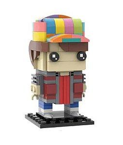 Brickheadz Marty McFly + 160 peças - De volta para o futuro - Blocos de montar 8Cm x 5Cm x 5Cm