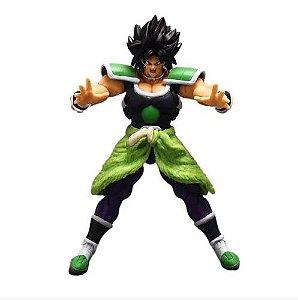 Boneco Broly Action Figure Dragon Ball Articulado