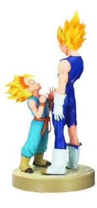 Figure Estátua Dragon Ball Z - Vegeta e Trunks - Animes Geek