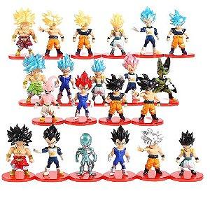 Pack 21 Figures Dragon Ball 7Cm - Animes Geek