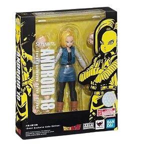 Action Figure Android 18 - Dragon Ball Z - Original Bandai