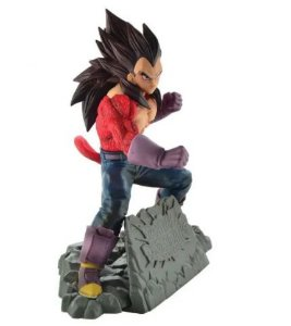 Figure Estátua Vegeta SSJ4 - Dragon Ball - Animes Geek