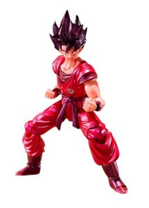Action Figure Goku estilo Kaioken DBZ 15Cm - Original Bandai
