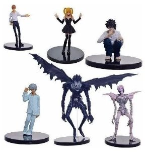 Pack 06 Action Figures Death Note - Animes Geek