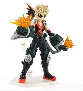 Action Figure Articulado Bakugo Katsuki 13Cm Boku No Hero Academia - Figma