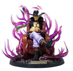Figure Estátua Dracule Mihawk Busoshoku Haki - One Piece