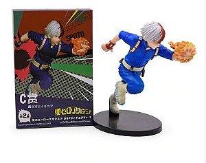 Figure Estátua Todoroki Shoto 20Cm - Boku No Hero Academia