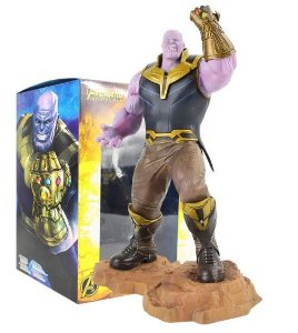 Figure Estátua Thanos Guerra Infinita - Avengers