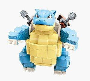 Blocos de Montar Blastoise 385 Peças - Pokémon