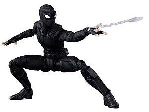 Action Figure Homem Aranha Stealth Suit 15Cm Marvel - Cinema Geek