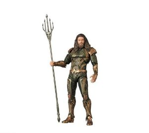 Action Figure Aquaman Liga da Justiça MAFEX - Dc Comics