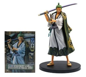 Figure Estátua Roronoa Zoro Ver. Zorojuro - One Piece