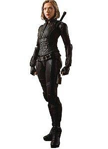 Action Figure Viúva Negra 15Cm Black Widow - Avengers