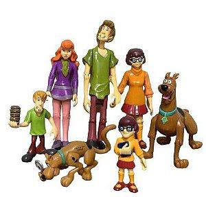 Pack 07 Figures Scooby Doo - Animes Geek